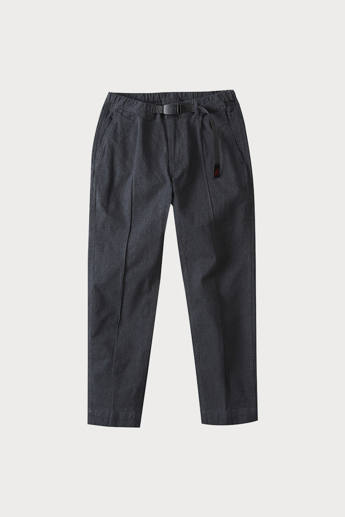 PINTUCK PANTS HEATHER CHARCOAL