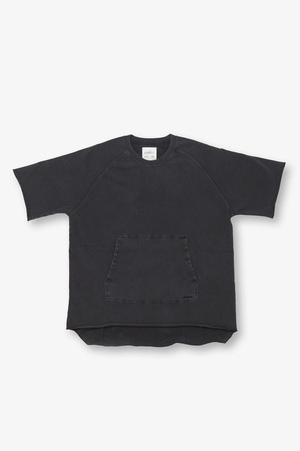 S/S TALECUT SWEAT BLACK