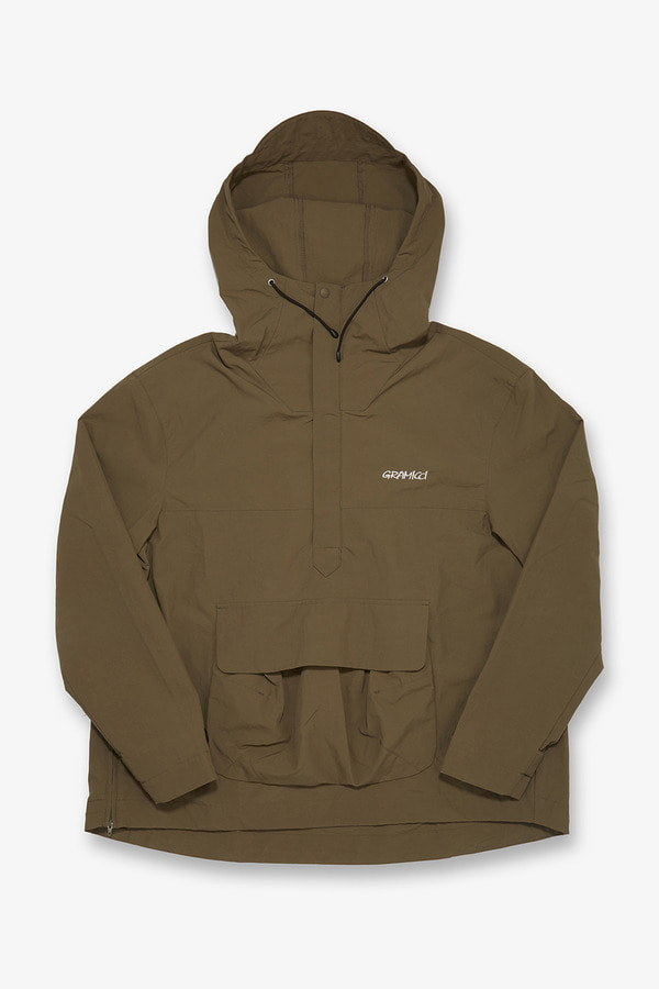 SHELL GUIDE PARKA TAN