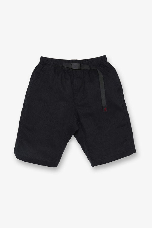 LINEN ST-SHORTS BLACK