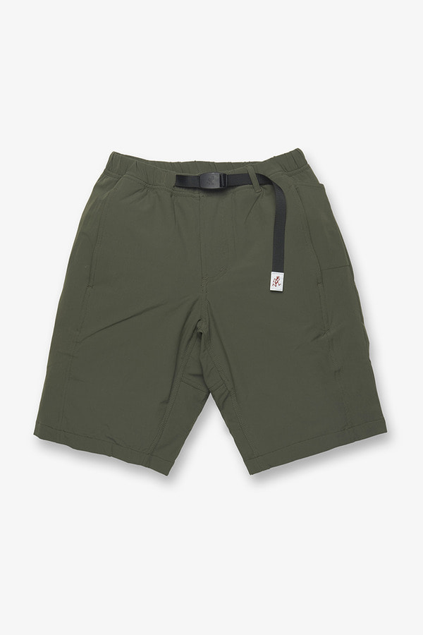 New Balance × GRAMICCI SHORTS DARK COVERT GREEN