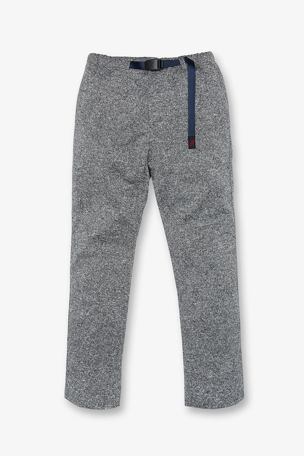 BONDING KNIT FLEECE NN-PANTS JUST CUT GREY x NAVY