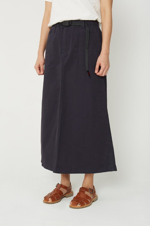 BAKER SKIRT DOUBLE NAVY