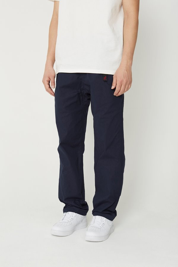 WEATHER TUCK TAPERED PANTS DOUBLE NAVY