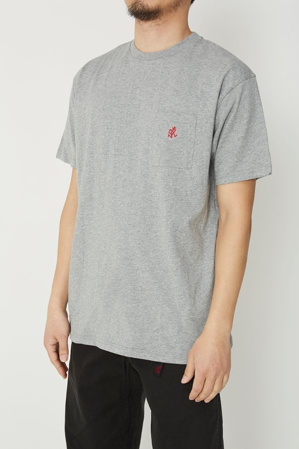 ONE POINT T-SHIRTS HEATHER GREY