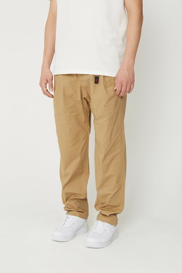 WEATHER TUCK TAPERED PANTS SAND