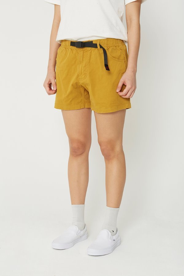 VERY SHORTS DEEP MUSTARD