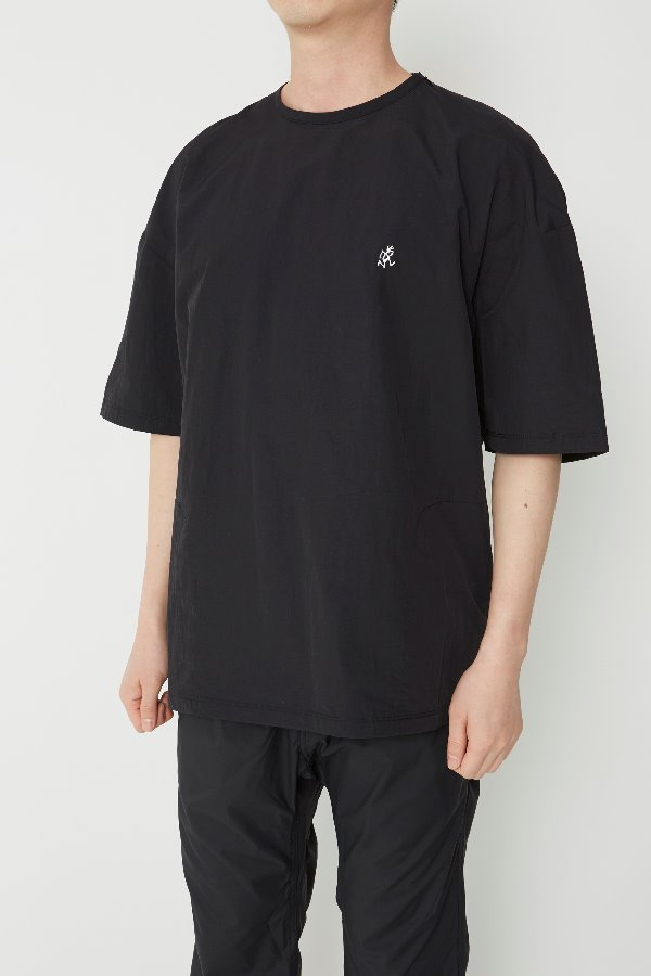 SHELL CAMP TEE BLACK